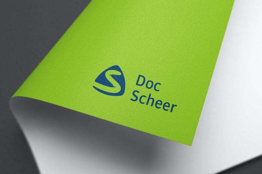 Das neue Logo von Doc Scheer